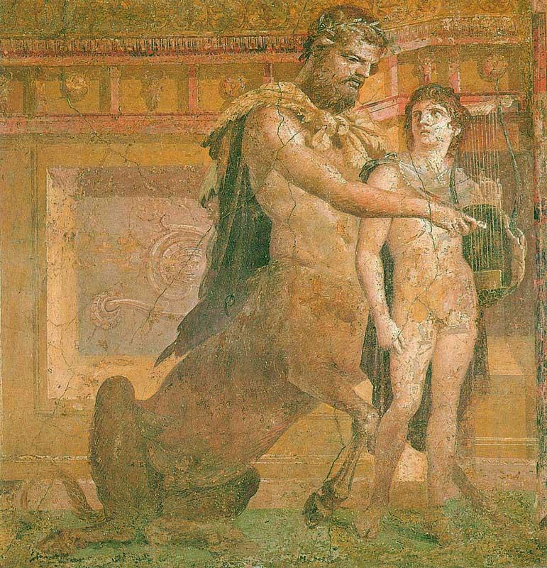 Chiron und Achilles